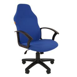 Кресло руководителя Chairman 269 ткань синий