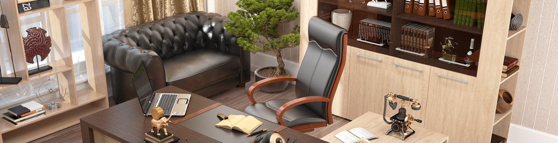 Кожаное кресло руководителя
