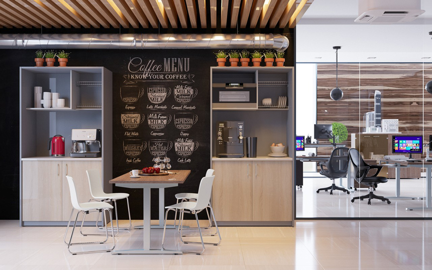 Офисная кухная SIMPLE PLUS 1