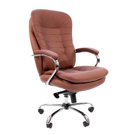Кресло руководителя Chairman 795 кожа светло-коричневый