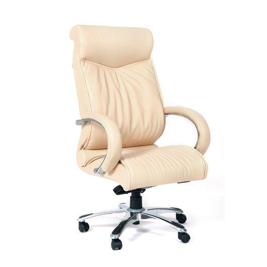 Кресло руководителя Chairman 420 кожа бежевый