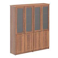 Шкаф высокий комбинированный Skyland RAUT RHC 180.2 орех даллас