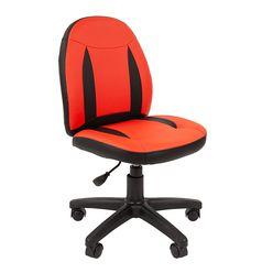 Кресло детское Chairman KIDS 122 экопремиум черный/красный