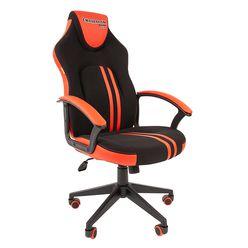 Кресло геймерское Chairman GAME 26 экопремиум черный/красный