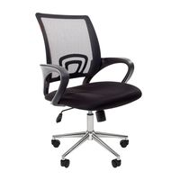 Кресло оператора Chairman 696 Chrome сетка/ткань черный