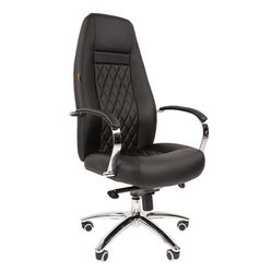 Кресло руководителя Chairman 950 экопремиум черный