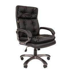 Кресло руководителя Chairman 442 экопремиум черный