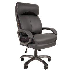 Кресло руководителя Chairman 505 экопремиум серый