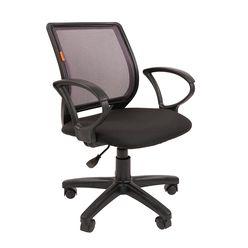 Кресло оператора Chairman 699 сетка/ткань черный/серый
