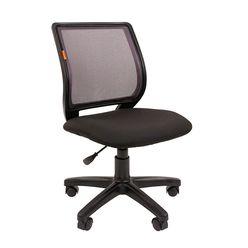 Кресло оператора Chairman 699 без подлокотников сетка/ткань черный/серый