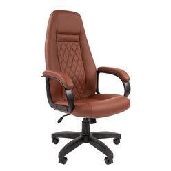 Кресло руководителя Chairman 950 LT экопремиум коричневый
