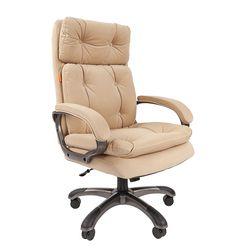 Кресло руководителя Chairman 442 ткань бежевый
