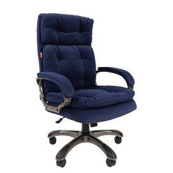 Кресло руководителя Chairman 442 ткань синий