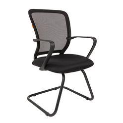 Кресло посетителя Chairman 698 V сетка/ткань черный
