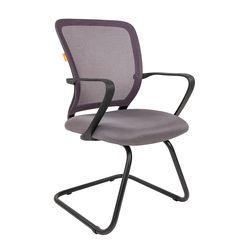 Кресло посетителя Chairman 698 V сетка/ткань серый