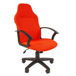 Кресло руководителя Chairman 269 ткань красный