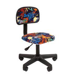 Кресло детское Chairman KIDS 101 black ткань CRAZY