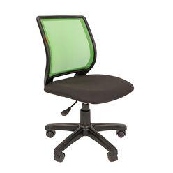 Кресло оператора Chairman 699 без подлокотников сетка/ткань зеленый