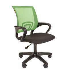 Кресло оператора Chairman 696 LT сетка/ткань зеленый/черный