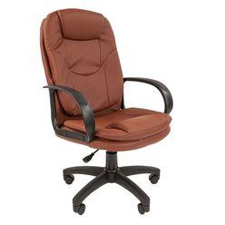 Кресло руководителя Стандарт СТ-68 экокожа коричневый