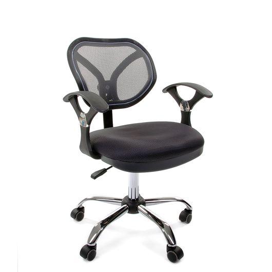 Кресло оператора Chairman 380 сетка/ткань TW-12 серый