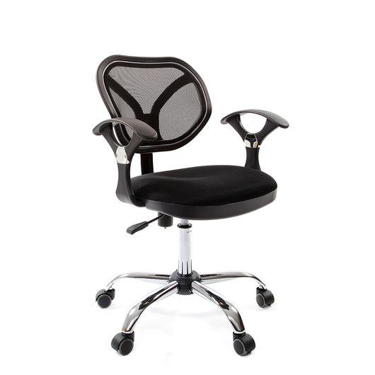 Кресло оператора Chairman 380 сетка/ткань TW-11 черный