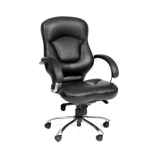 Кресло руководителя Chairman 430 кожа черный