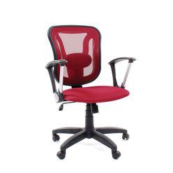 Кресло оператора Chairman 452 TG сетка/ткань TW-13 бордовый