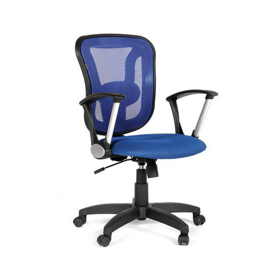 Кресло оператора CHAIRMAN 452 TG сетка синяя/ткань TW-10 синяя