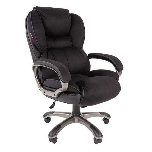Кресло руководителя Chairman 434N микрофибра черный