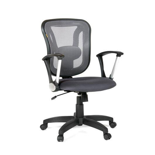 Кресло оператора Chairman 452 TG сетка/ткань TW-12 серый