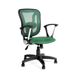 Кресло оператора CHAIRMAN 452 TG сетка зеленая/ткань TW-18 зеленая
