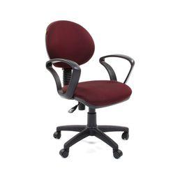Кресло оператора Chairman 682 ткань JP15-6 бордовый