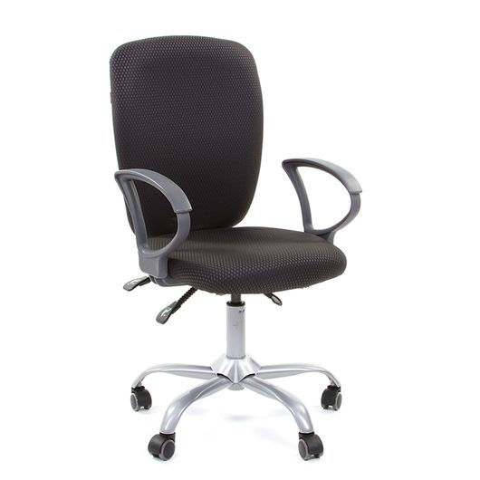 Кресло оператора CHAIRMAN 9801 ткань JP15-1 серая