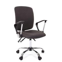 Кресло оператора Chairman 9801 хром ткань 15-13 серый
