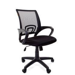 Кресло оператора Chairman 696 black сетка/ткань черный