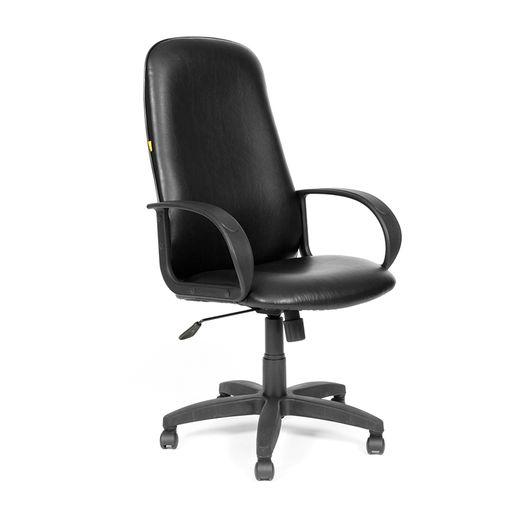Кресло руководителя Chairman 279 КЗ экокожа черный