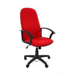 Кресло руководителя Chairman 289 NEW ткань красный