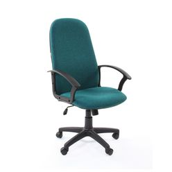 Кресло руководителя Chairman 289 NEW ткань зеленый