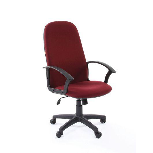 Кресло руководителя Chairman 289 NEW ткань бордовый