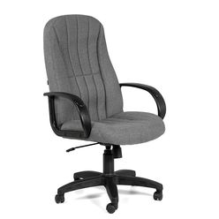 Кресло руководителя CHAIRMAN 685 ткань 20-23 серая