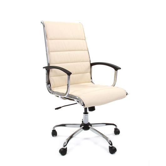 Кресло руководителя Chairman 760 экокожа бежевый
