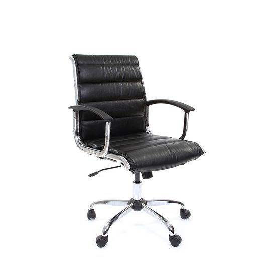 Кресло оператора Chairman 760M экокожа черный