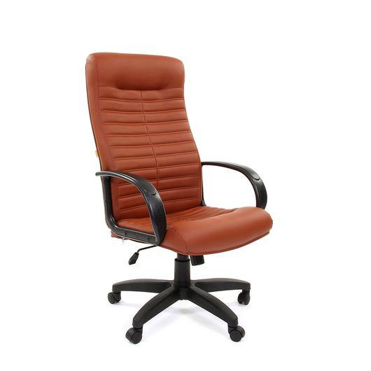 Кресло руководителя Chairman 480 LT экокожа коричневый