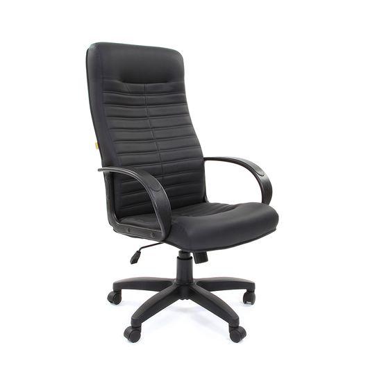 Кресло руководителя Chairman 480 LT экокожа черный