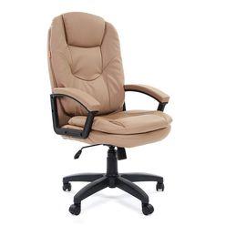 Кресло руководителя Chairman 668 LT экопремиум бежевый