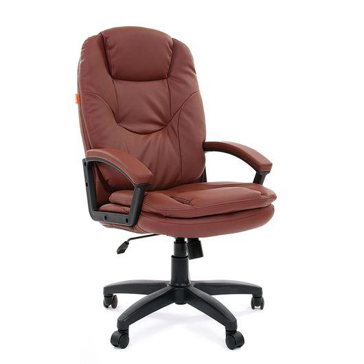 Кресло руководителя Chairman 668 LT экопремиум коричневый