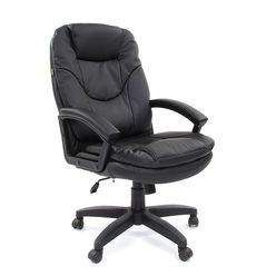 Кресло руководителя Chairman 668 LT экопремиум черный