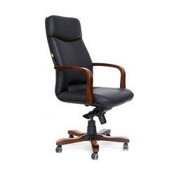 Кресло руководителя Chairman 460 кожа черный