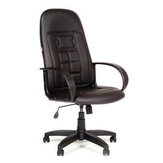 Кресло руководителя Chairman 727 Eco экокожа черный
